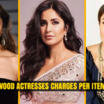Bollywood Actresses Charge Per Item Song