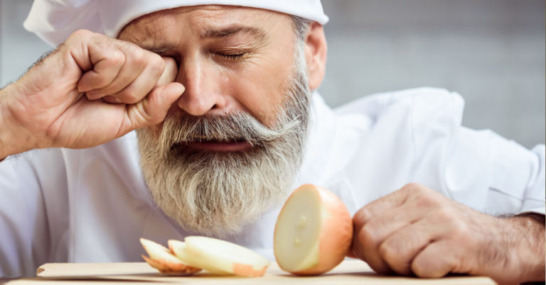 Why Cutting Onions Make Us Cry