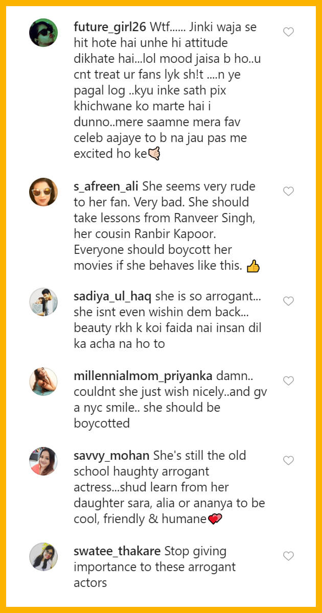 Kareena Kapoor Criticised for Ignoring a Fan