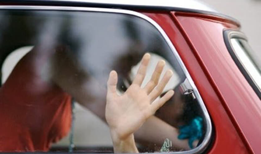 Ahmedabad Couple Making Out in Car