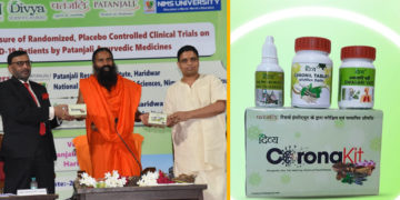 Ramdev's Patanjali Launches 'Coronil'