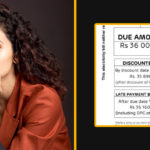 Tapsee Pannu Shocked to See her Huge Electricity Bill