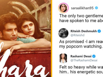 celebrities react to film Dil Bechara