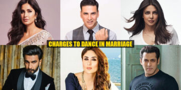 Money Bollywood Celebrities Charge