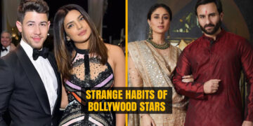 Strange habits of Bollywood Stars