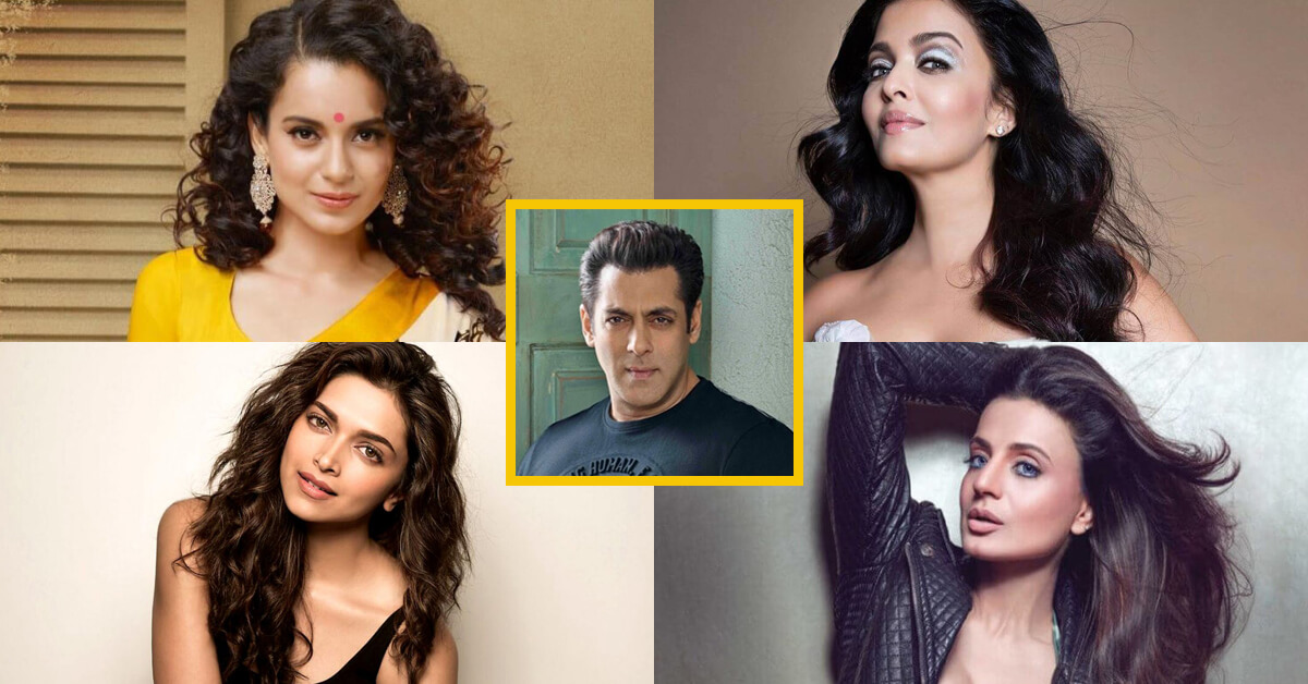 Actresses who Refused to Work with Salman Khan